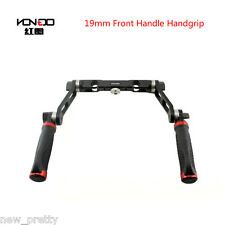HONTOO 19MM Front Handle Handgrip w/ ARRI Rosettes for 19mm rod rail system rig