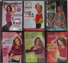 6 workout DVDs with by Jennifer Galardi exercise fitness dance dancing hip hop
