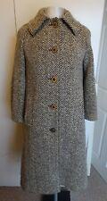 Womens Vintage Aquascutum Wool Winter Coat Jacket - UK 10