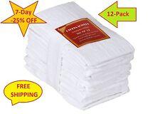 Flour Sack Towels 100% Pure Cotton Dish Cloth Kitchen 12 Pack 28x28 Inch New Set