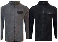Men`s Pierre Cardin Fleece Jacket Size S M L XL 2XL 3XL Sherpa Borg