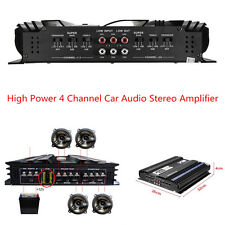 High Power 3800 Watts 4 CH Channel Powerful Car Audio Stereo Amplifier Apm 4Ohm