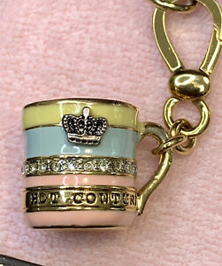 "Rare Juicy Couture  Hot Chocolate Coco Marshmallow "" Hot Couture"" Charm In Box"
