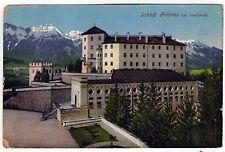 1911 INNSBRUCK AUSTRIA Austrian PC Postcard SCHLOSS AMBRAS Castle LOGAN Boston