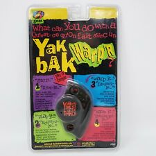 Yak Bak Warp'R 1996 Voice Recording Talking Toy Sealed