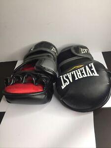 MMA Gloves Everlast Training Sparring UFC Wrestling Bag Training,USED Size S/M