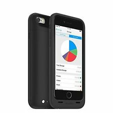 mophie Space Pack 64gb Storage and Battery Case for iPhone 5 5s SE Black