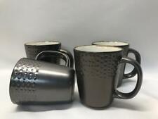Mikasa Gourmet Basics Metropolitan Metallic Set Of 4 Coffee Mugs