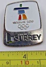 2010 City of Surrey Venue Vancouver Winter Olympics Paralympics Pin