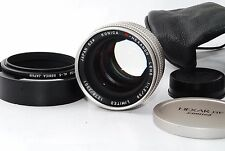 "Konica M-Hexanon 50mm F/1.2 limited (Leica Noctilux) ""Excellent++ ""  #1026"