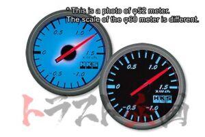 HKS Direct Bright Meter 60mm Boost Pressure Black Panel 44004-AK002