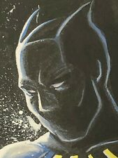 Marvel Masterpieces - hand-drawn artist sketch card - Black Panther