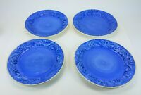 Vintage Fioriware Jardinware Zanesville Ohio Plates Dinnerware Lot of 4 Glazed