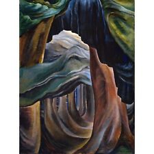 Emily Carr Forest British Columbia Painting Large Wall Art Print 18X24 In