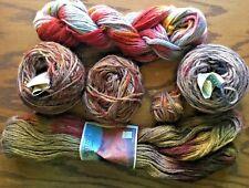 4+ Full Skeins Hand Dyed 50g ARAUCARIA ATACAMA Alpaca DK Yarn Lot in 3 Colors