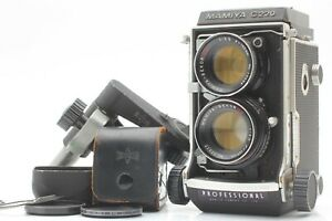 *EX+5* MAMIYA C220 Professional TLR Camera w/SEKOR DS 105mm F/3.5 Lens #Fedex#JP