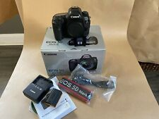 Canon EOS 5D Mark IV 30.4MP Digital SLR Camera - Black (Body Only) used