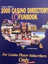 Casino Player Magazine Directory & Funbook 2000 021618nonrh