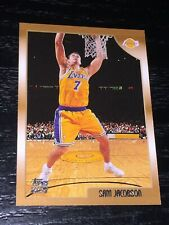 1998-99 Topps SAM JACOBSON RC card #212 ~ Los Angeles Lakers Rookie ~ F1