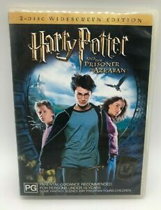 Harry Potter and the Prisoner of Azkaban  - 2 Disc Widescreen -  DVD - Free Post