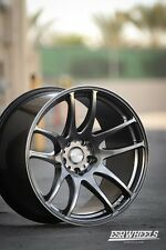 19x9.5 Inch +35 ESR Sr08 5x120 Hyper Black Wheels Rims BMW E60 E90 E92 F80 M3 M5