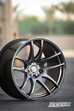 19x9.5 Inch +22 ESR Sr08 5x120 Hyper Black Wheels Rims BMW E60 E90 E92 F80 M3 M5