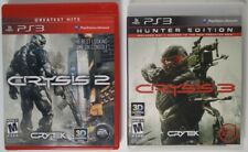 Crysis 2 3 Lot Playstation 3 PS3 Complete In Box