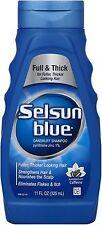Selsun Blue Dandruff Shampoo For Fuller/Thicker Hair 11 oz