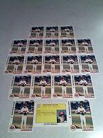 *****John Sheehan*****  Lot of 20 cards / Baseball