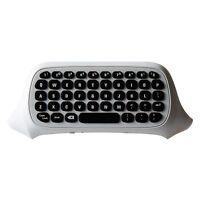 DOBE 2.4G Wireless Mini Keyboard for Xbox One S Gamepad Controller White Black