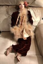 Seymour Mann Doll Signature Series Boudoir Flapper Lady 27�