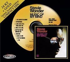 Stevie Wonder Music Of My Mind Audio Fidelity Gold CD Limited Edition HDCD Disc