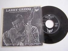 EP 4 T VINYLE  45 T , LARRY GRECO , J ' AI FINI DE TRICHER . VG / VG .
