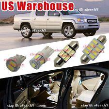 17-pc White LED bulb Interior Light Package inside Kit For 06-up Honda Ridgeline