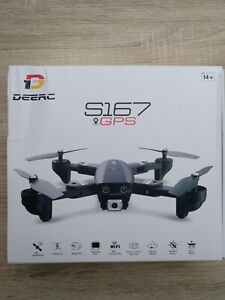 deerc s167 GPS Quadcopter Drohne WIFi Kamera 1080P