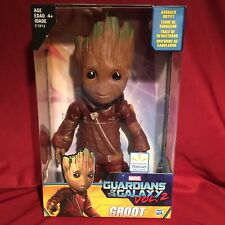 "Marvel Guardians of the Galaxy Vol. 2 WALMART EXCLUSIVE 10"" RAVAGER OUTFIT GROOT"