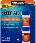 Kirkland Signature Sleep Aid Doxylamine Succinate 25 Mg 2 X 96 Tablets 192-Count