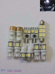 C300 C350 C63 Interior Led Complete set 11pcs white led