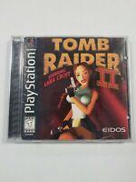 Tomb Raider II Starring Lara Croft (Sony PlayStation 1, 1997) Complete