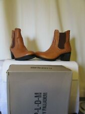 boots/bottines palladium cuir cognac pointure 42
