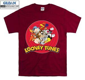 Looney Tunes Characters T-shirt Cool T shirt Men Women Unisex Tshirt 3905