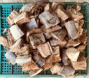Coconut Husk fiber, Chips, for flowers and other plants 400g
