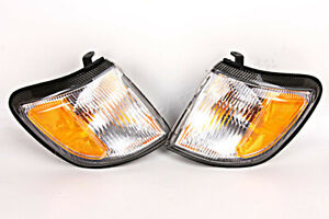 Corner Turn Signal  Light Lamps LEFT+RIGHT PAIR Fits SUBARU Forester 1998-2000