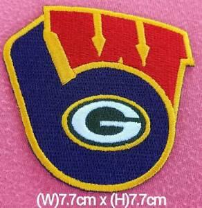 Milwaukee MLB, Brewers NCAA, Packer NFL Mix Sport Logo Patch sport iron,sew on