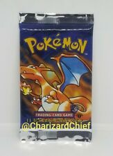 FIRST EDITION BASE SET BOOSTER PACK CHARIZARD ORIGINAL BRAND NEW FACTORY SEALED