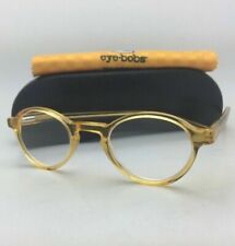 Readers EYE BOBS Eyeglasses BOARD STIFF 2147 77 +2.50 44-23 Orange Crystal Frame