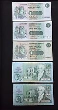 States Of Guernsey & Clydesdale Bank. £1 Pound Banknotes. Some UNC! 5 Notes