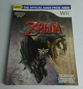 Official Nintendo Player's Guide The Legend of Zelda Twilight Princess Wii