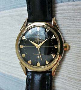 Vintage Swiss Omega Constellation 'bumper' automatic watch, gold cap, 2782-354
