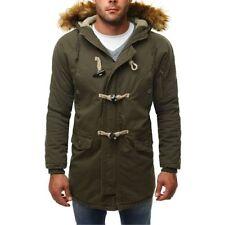 Cappotti e giacche da uomo stile parka verde taglia M